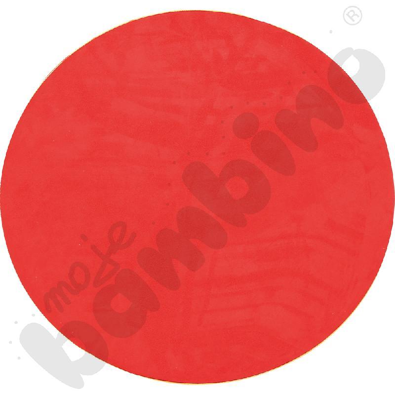 Magnetyczna tapeta koło - ciemnoczerwona