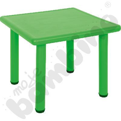 Stół Dumi kwadratowy - zielony