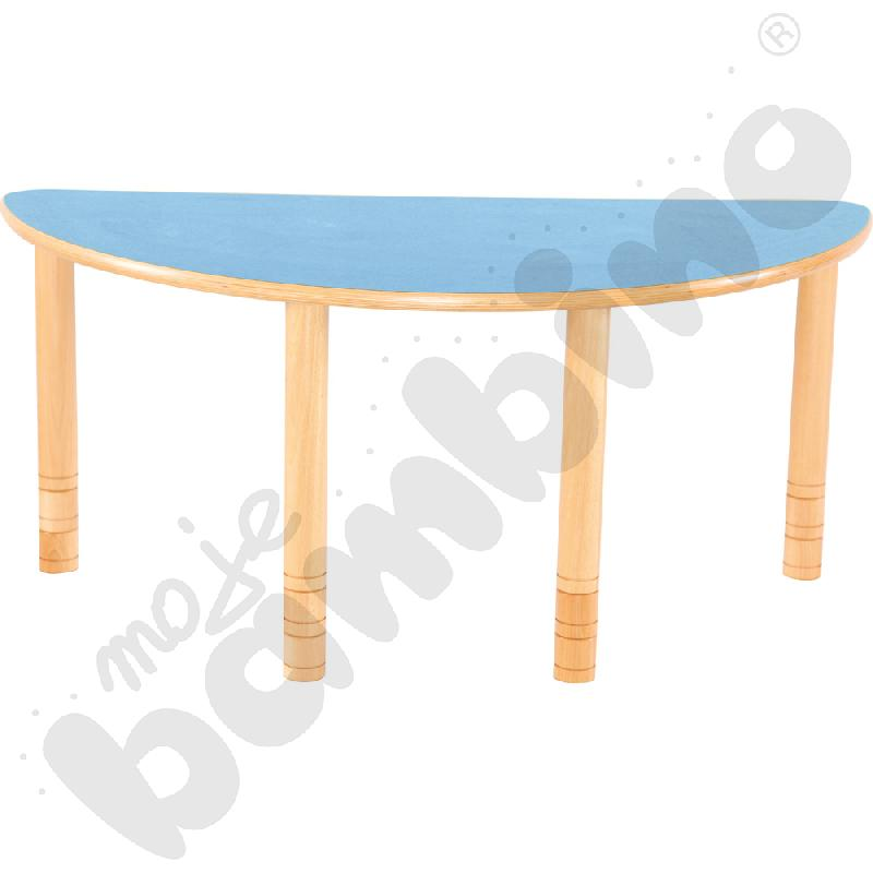 Stół Flexi półokrągły-...
