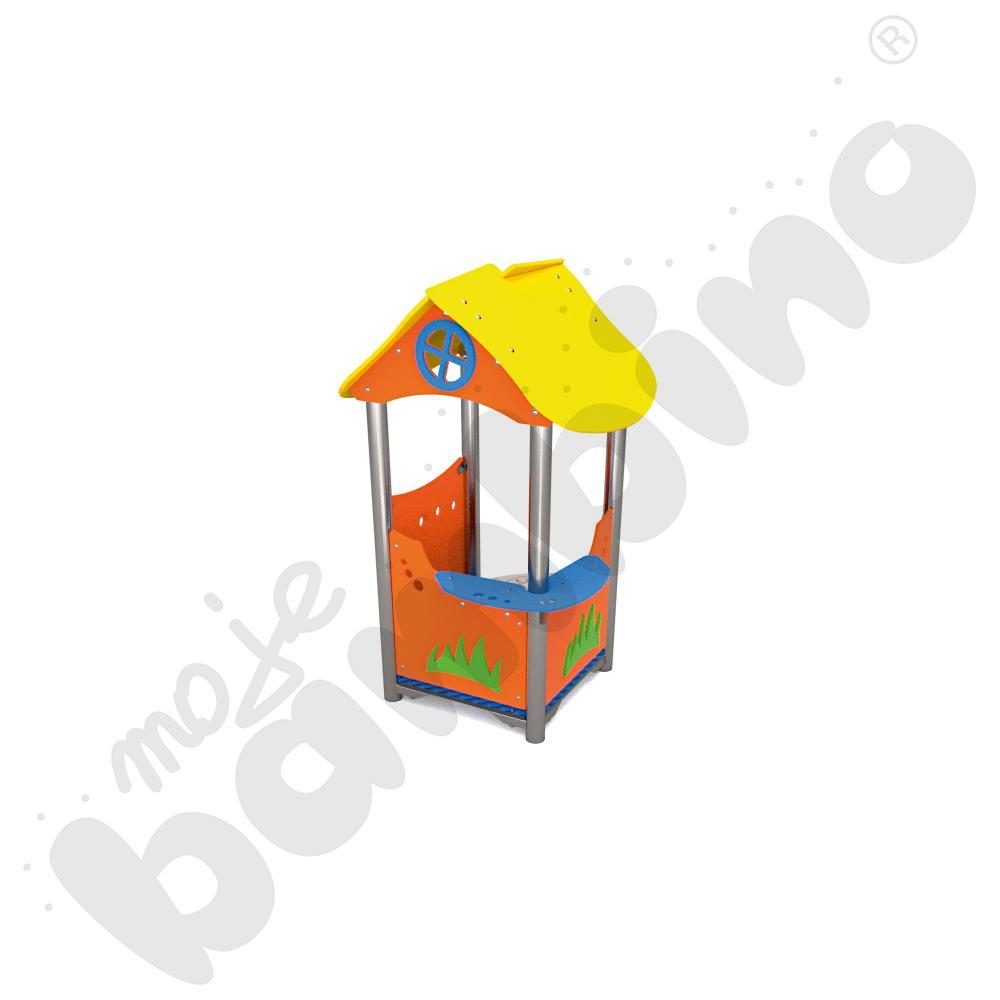 Domek z grą insGraf- żółty