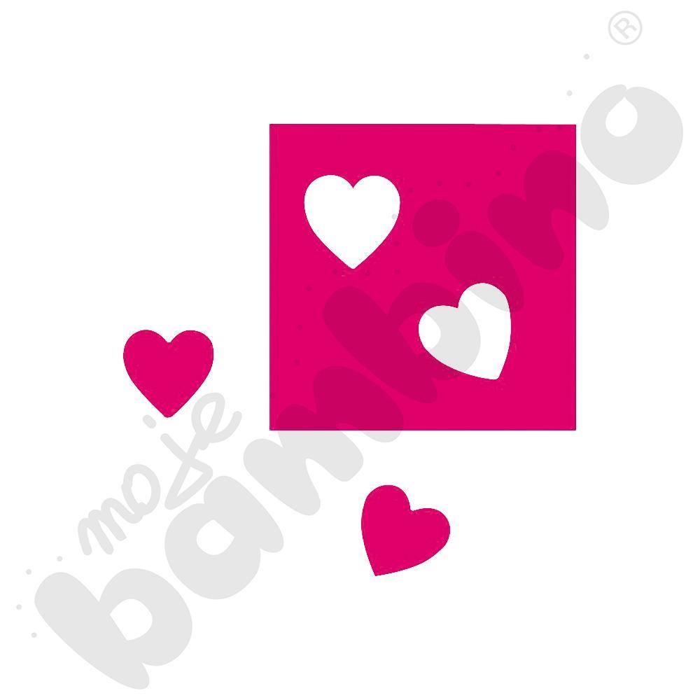 Dziurkacz szczypcowy Serce
