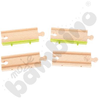 Drewniane tory - uzupełnienie 17, podwójne tory