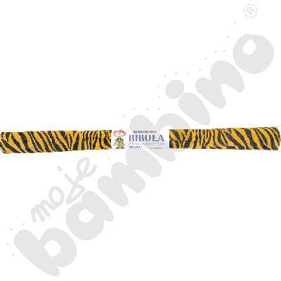 Bibuła karbowana tygrys