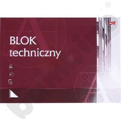 Blok techniczny biały A3