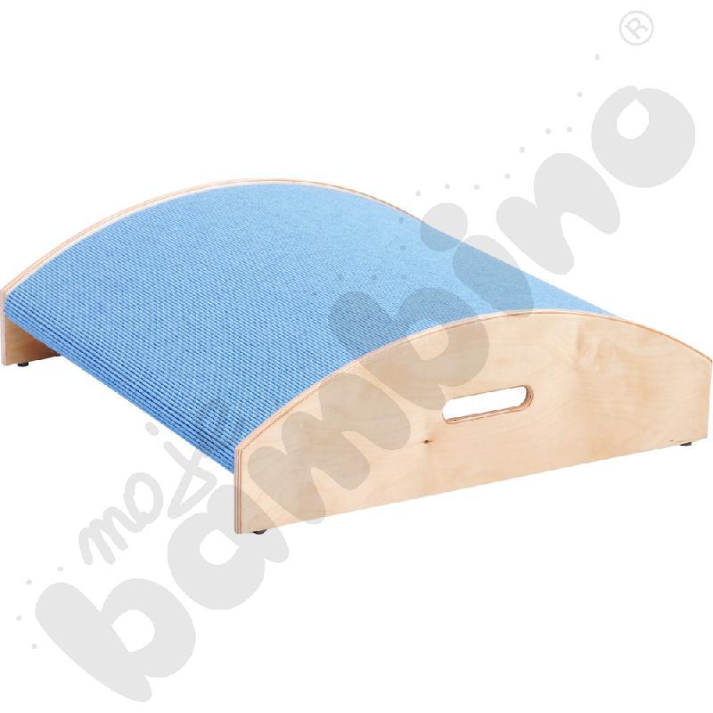 Podest kwadrat wypukły - wys. 10 cm jasnoniebieski