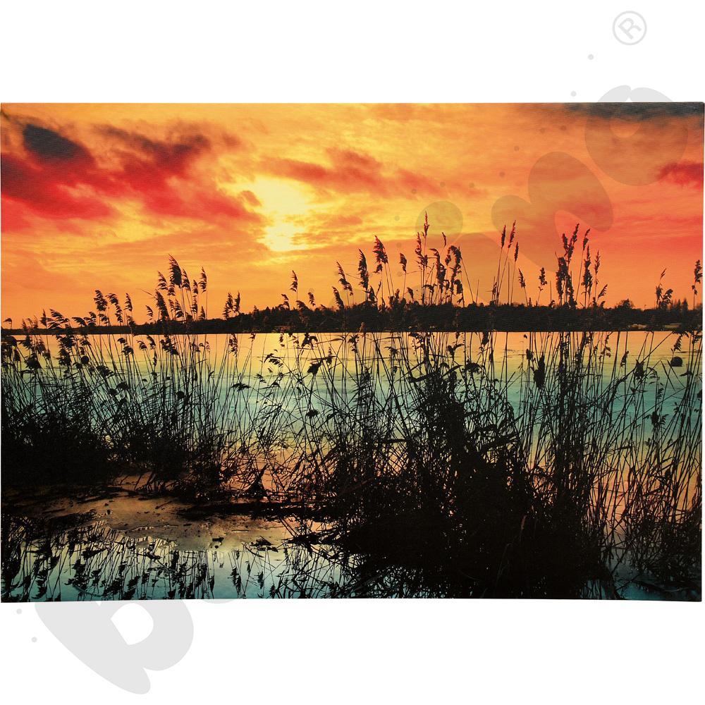 Zachód słońca - obraz