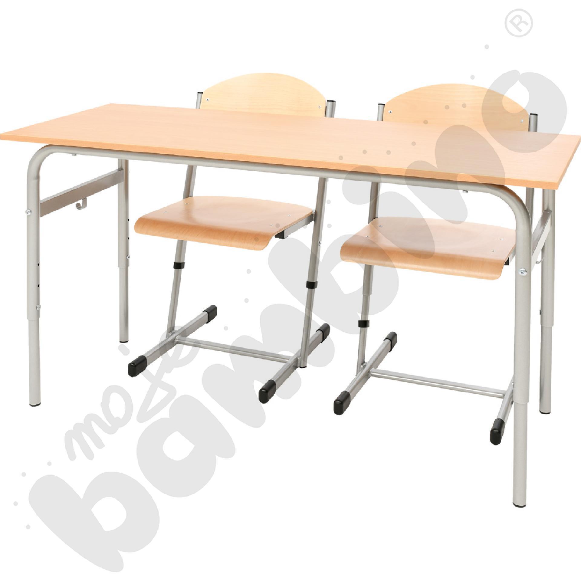 Stół Daniel z krzesłami T - rozm. 4-6