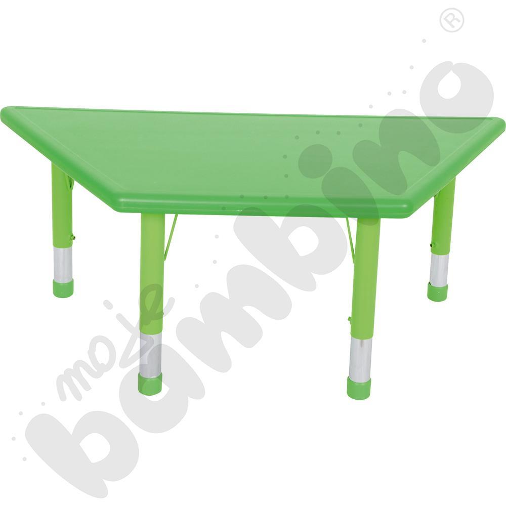 Stół Dumi trapezowy - zielony