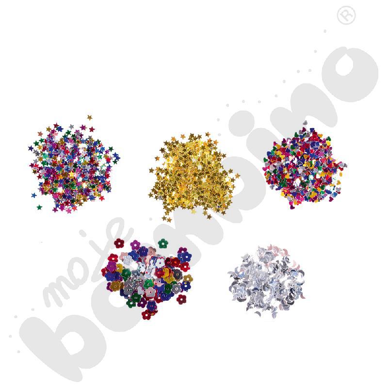Konfetti mini kształty