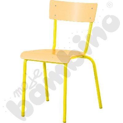 Krzesło D rozm. 3 żółte