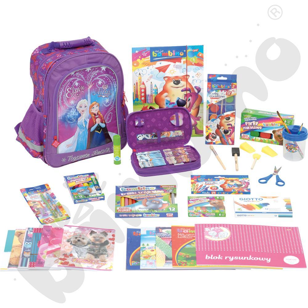 Wyprawka  szkolna Dobry Start 2 - dla dziewczynki