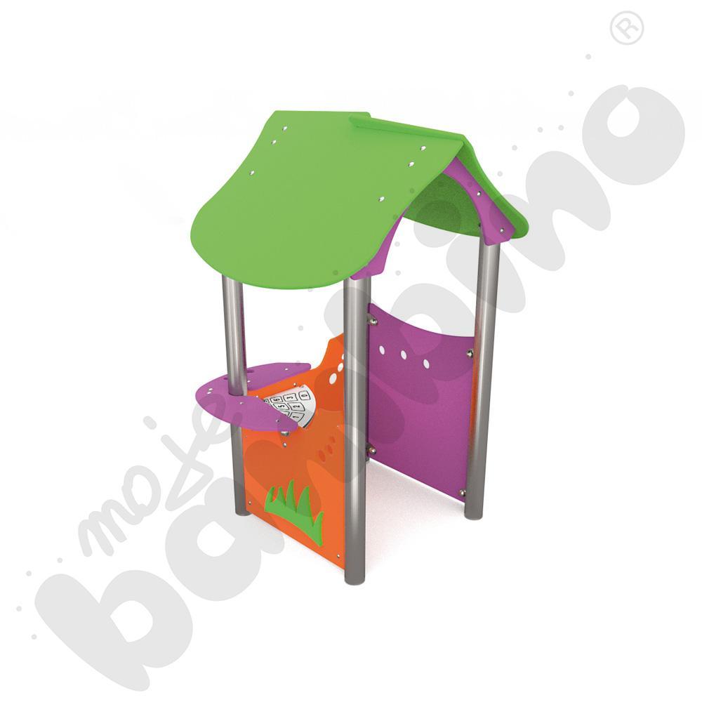 Domek malucha insGraf- fioletowy