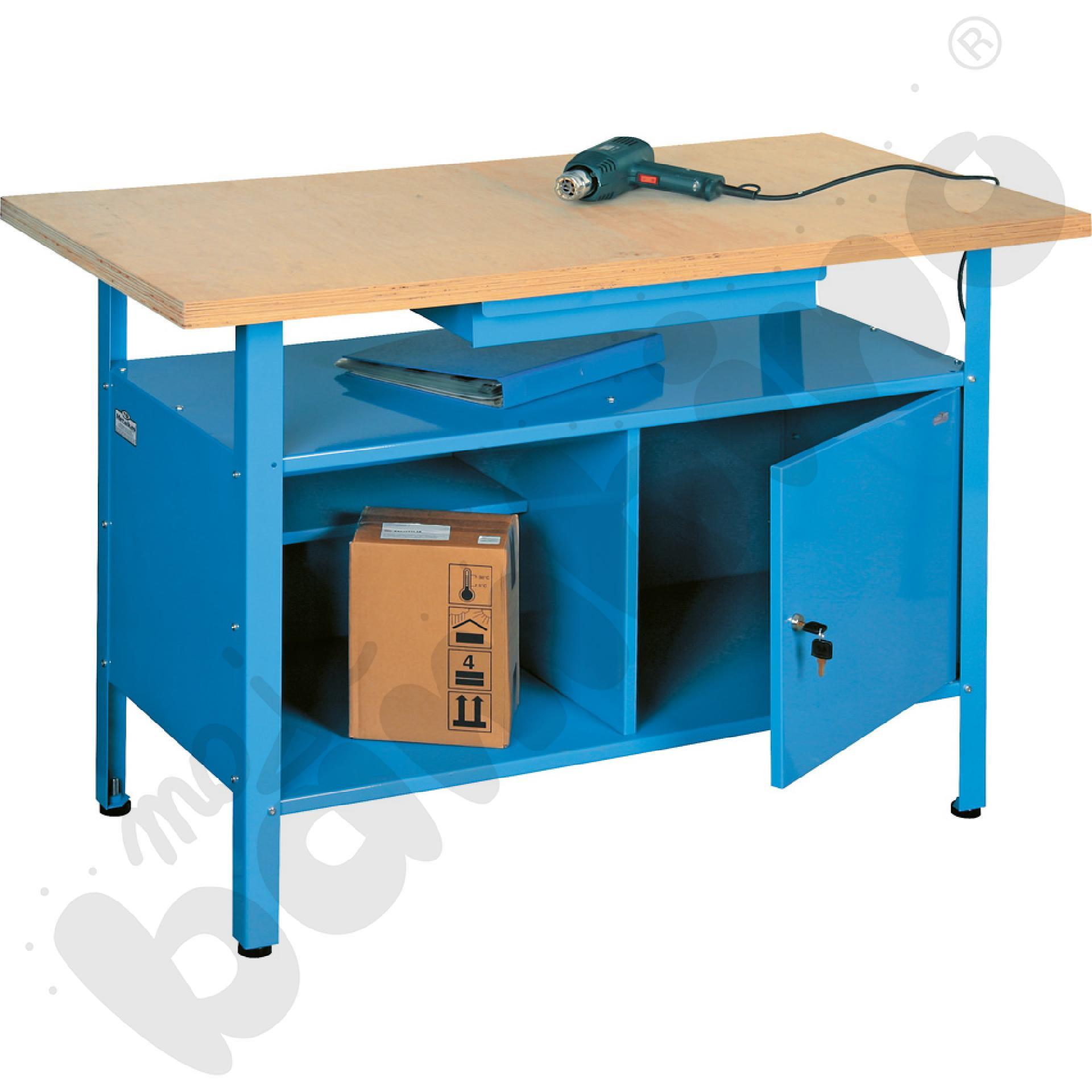 Stół warsztatowy z szafką