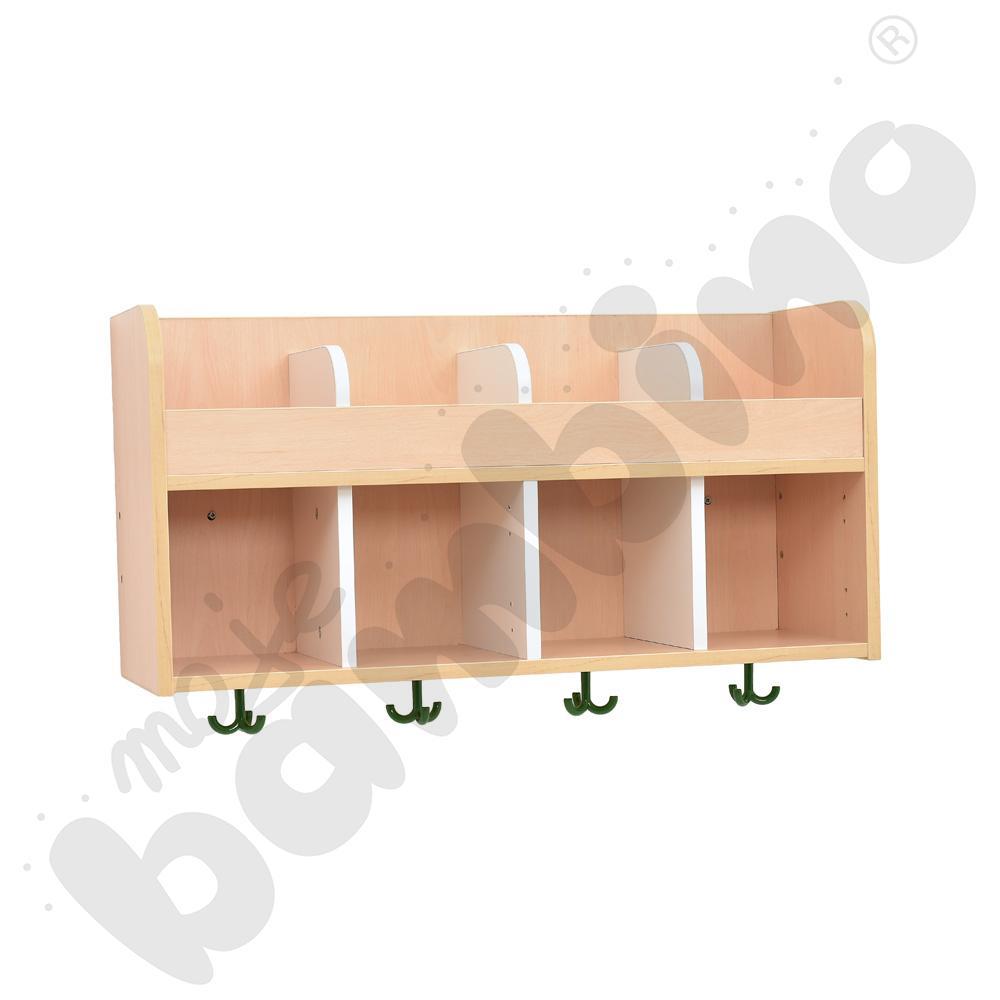 Quadro - szatnia półka 4, klon