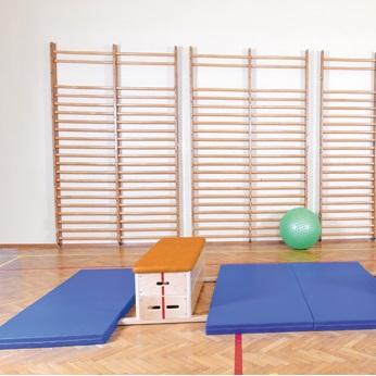 Sport, wyposażenie sali gimnastycznej