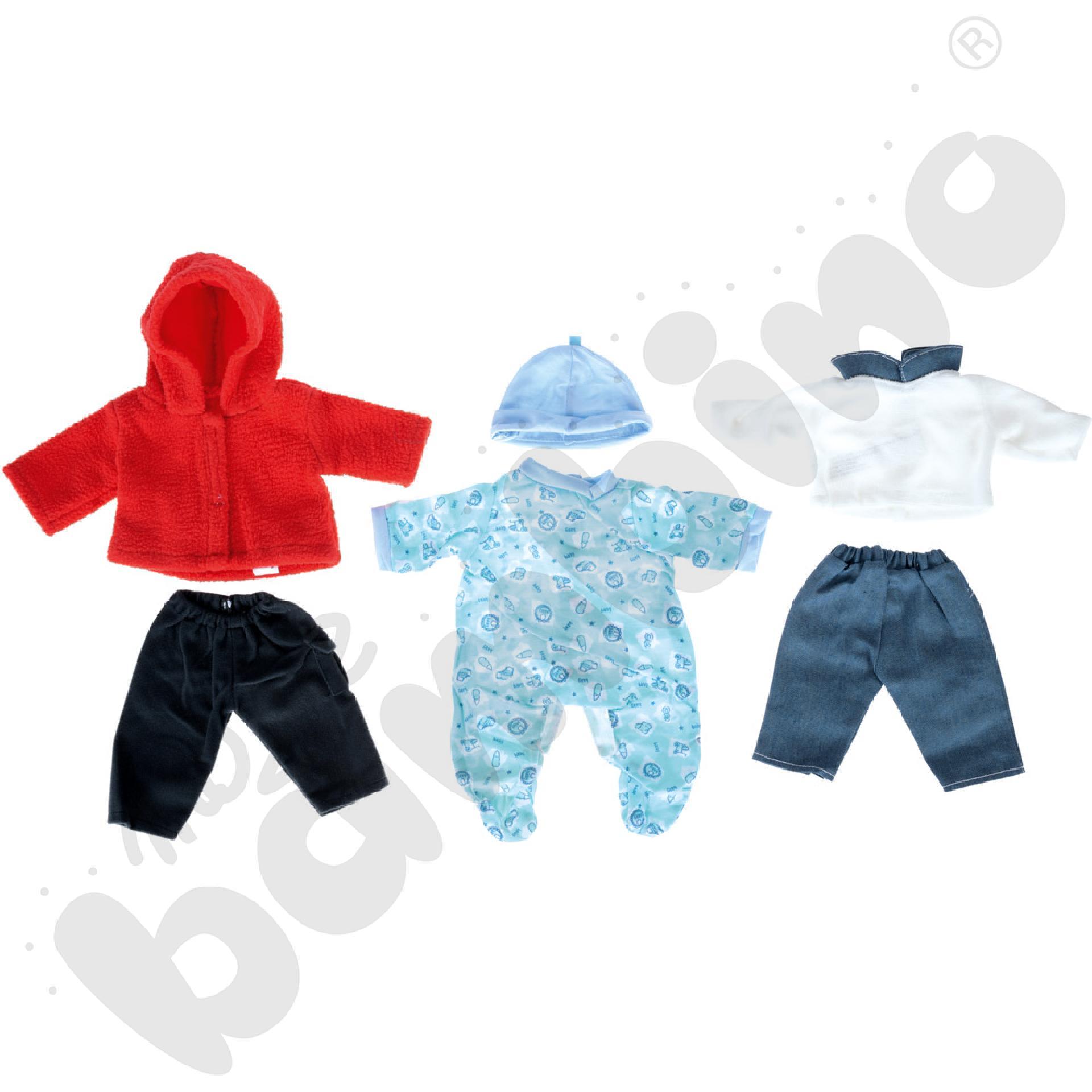 Ubranka dla lalek - chłopiec