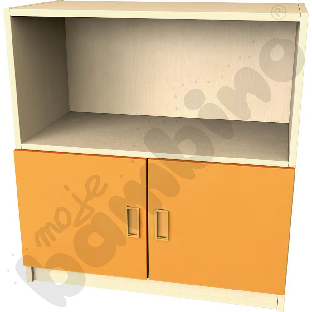 Drzwi małe do regału - pomarańczowe