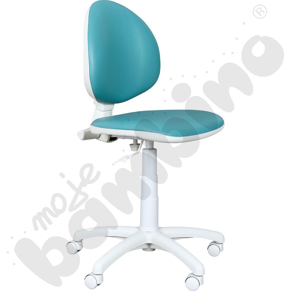 Krzesło do gabinetu lekarskiego - zielone