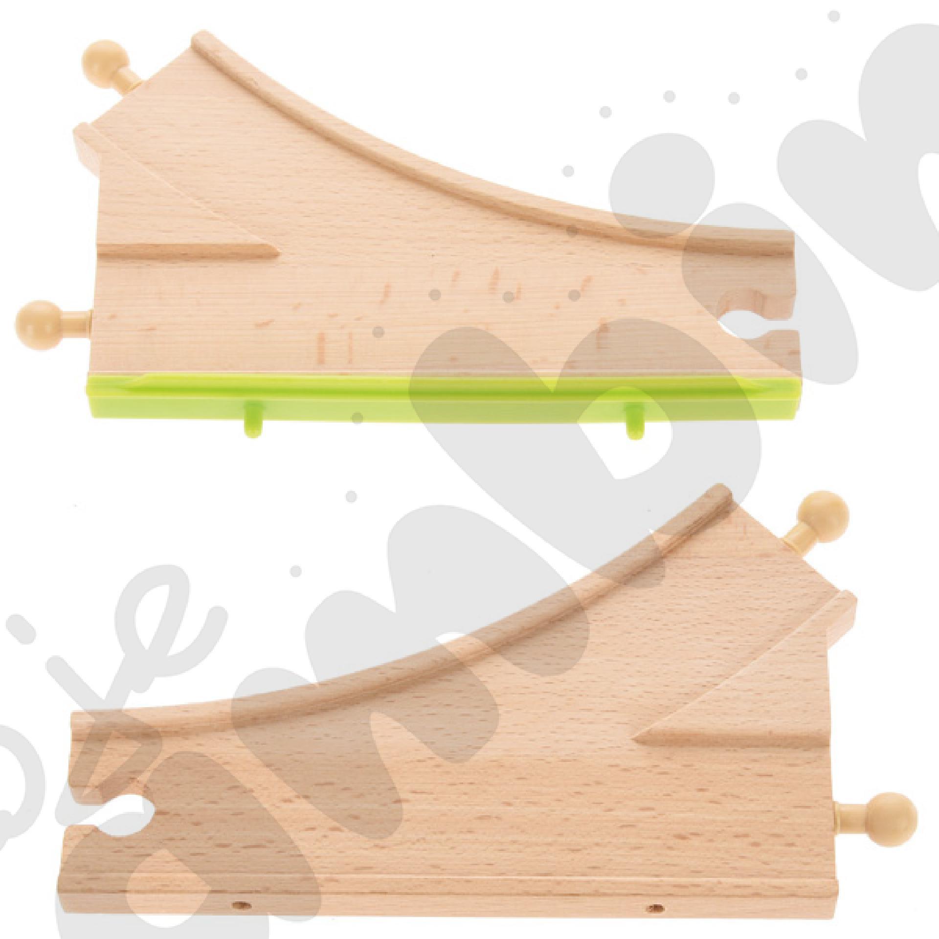 Drewniane tory - uzupełnienie 25, podwójne tory