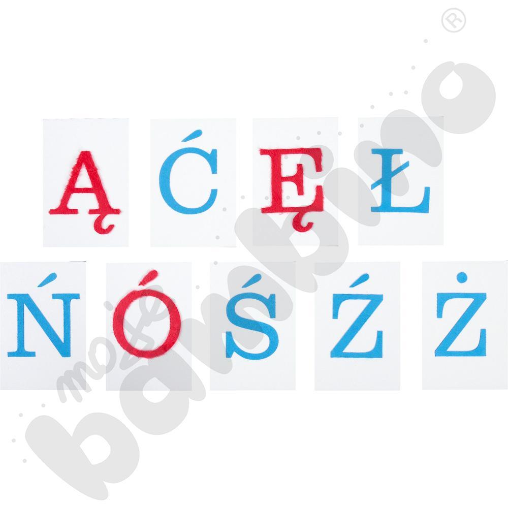 Alfabet  polski - wielkie litery