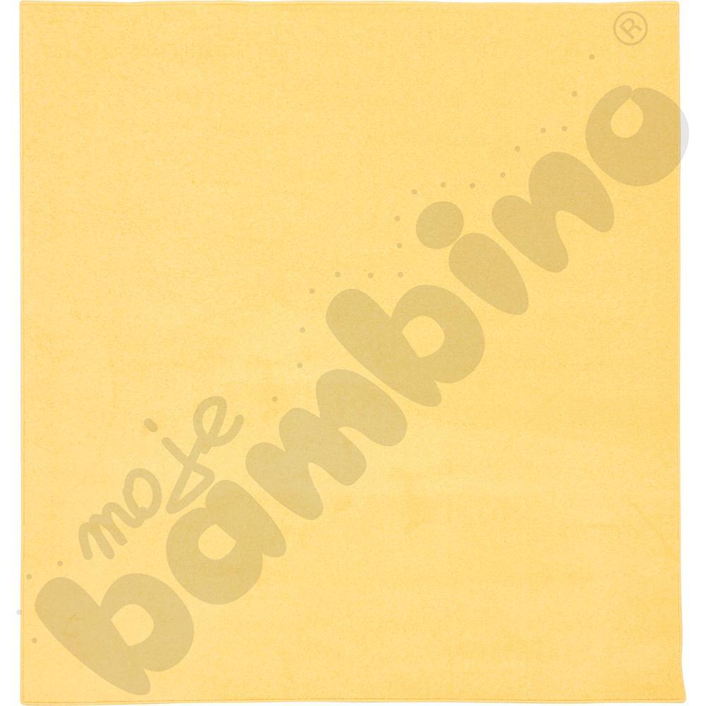 Dywan jednokolorowy - żółty 2 x 2 m