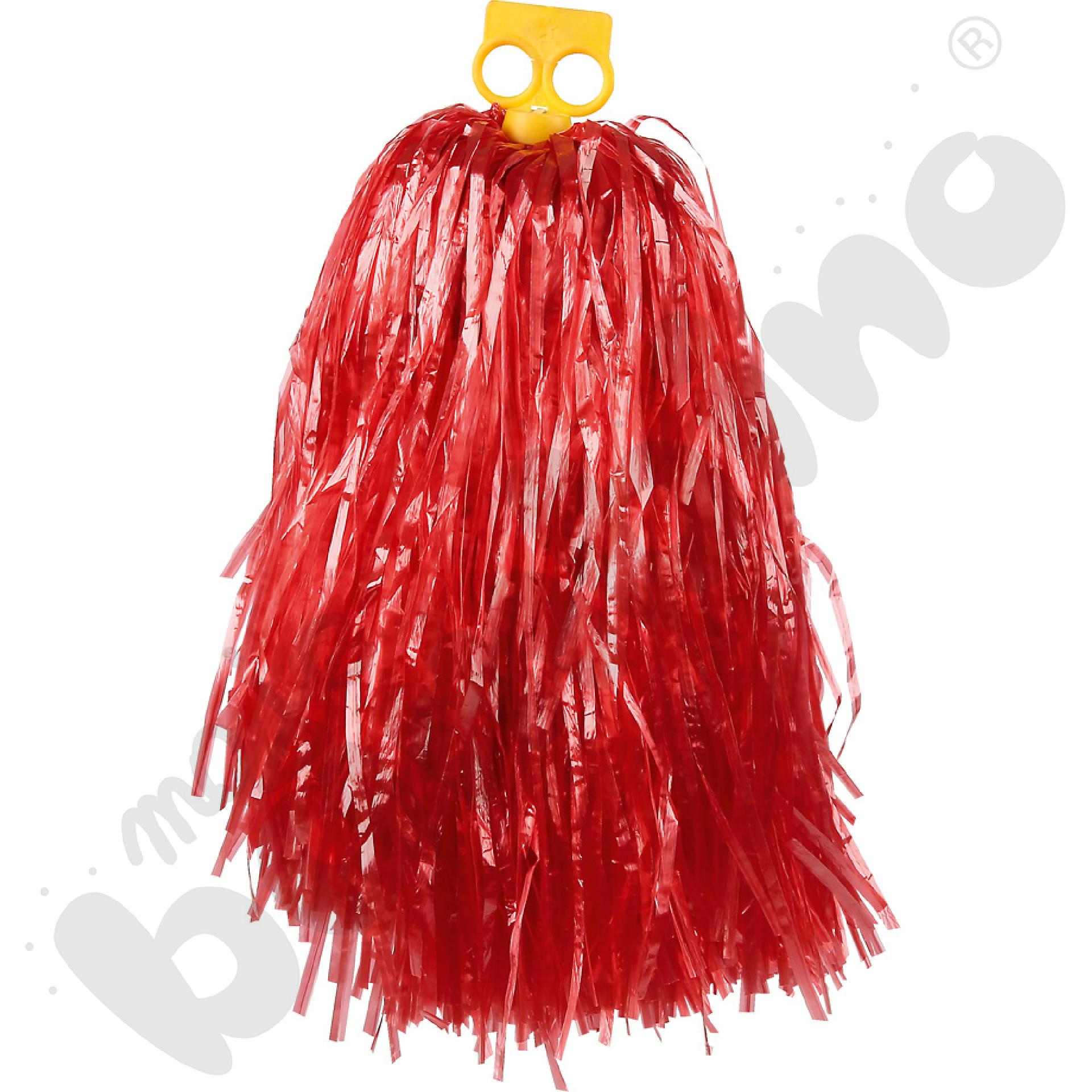 Pompon duży - czerwony