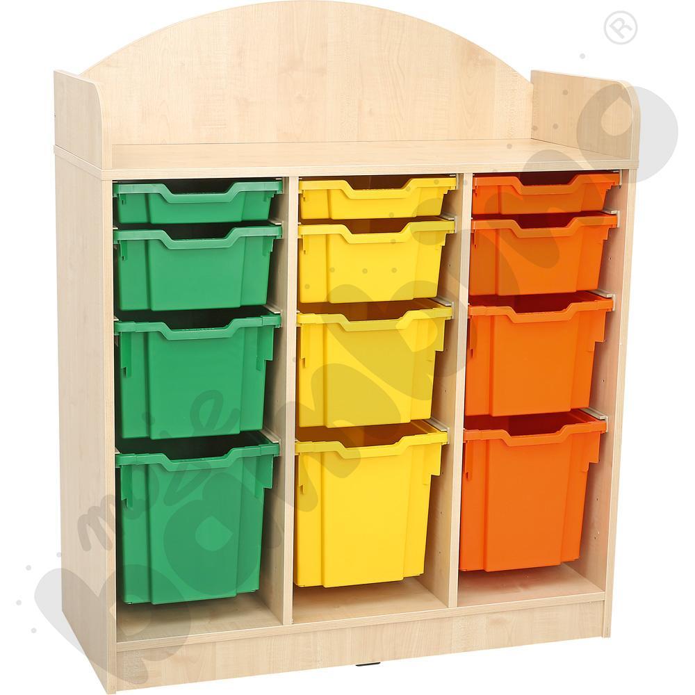 SANLANDIA PLUS regał na pojemniki plastikowe
