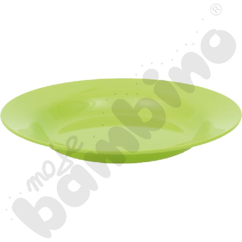 Głęboki talerz - zielony