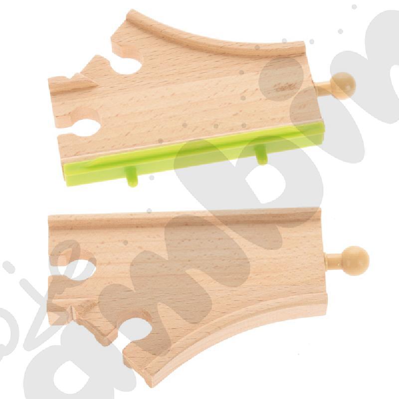 Drewniane tory - uzupełnienie 24, podwójne tory