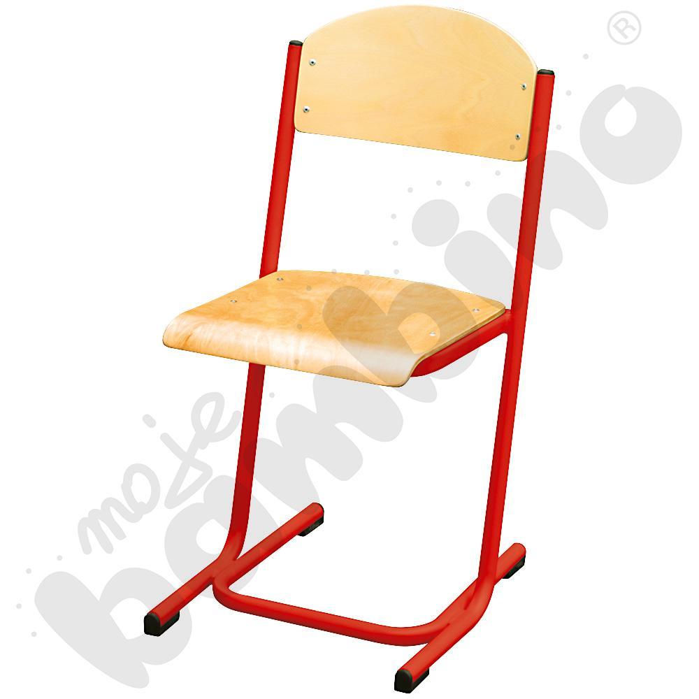 Krzesło MAX rozm. 4 czerwone