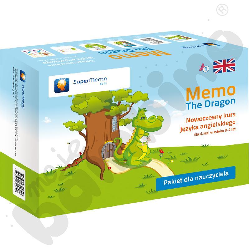 Kurs j. angielskiego dla przedszkolaka Memo The Dragon- pakiet dla nauczyciela cz. 1