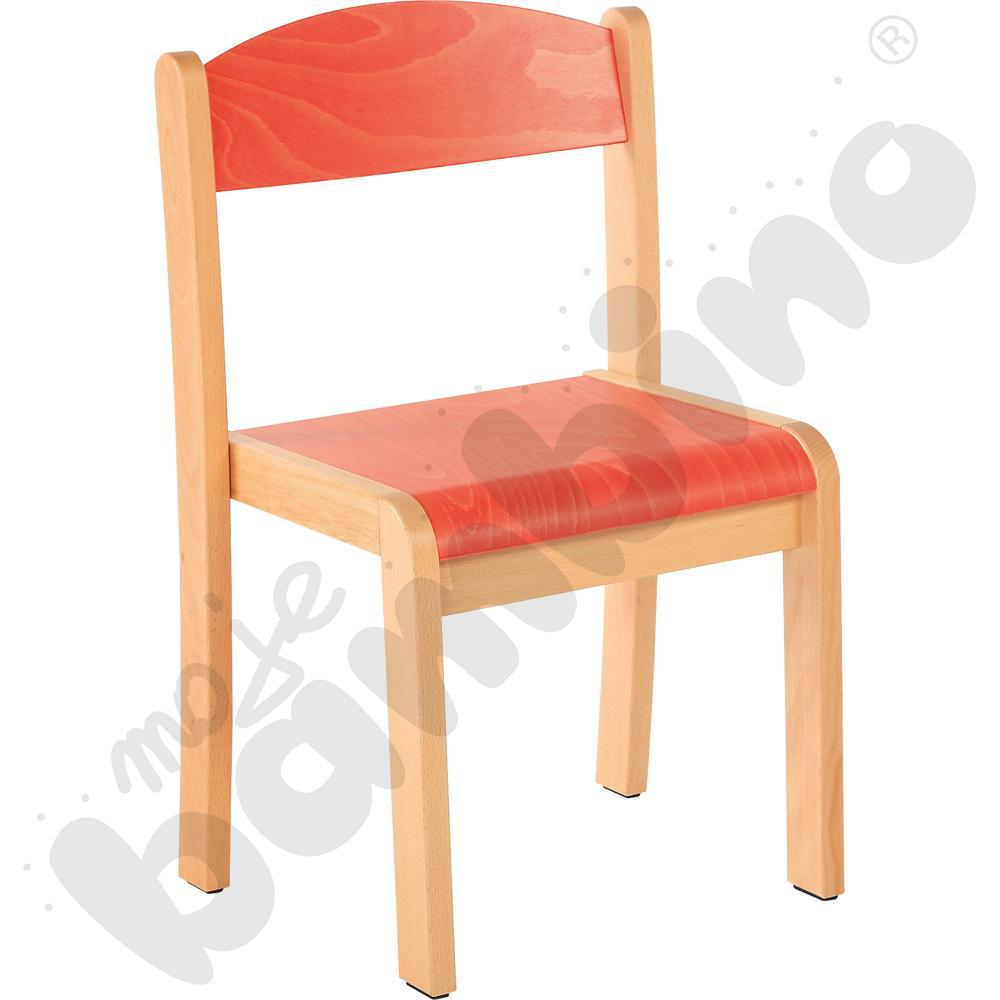 Krzesło Filipek rozm. 3 pomarańczowe