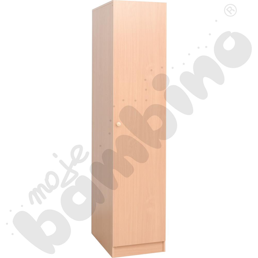 Szafa z drzwiami na pościel i 4 materace