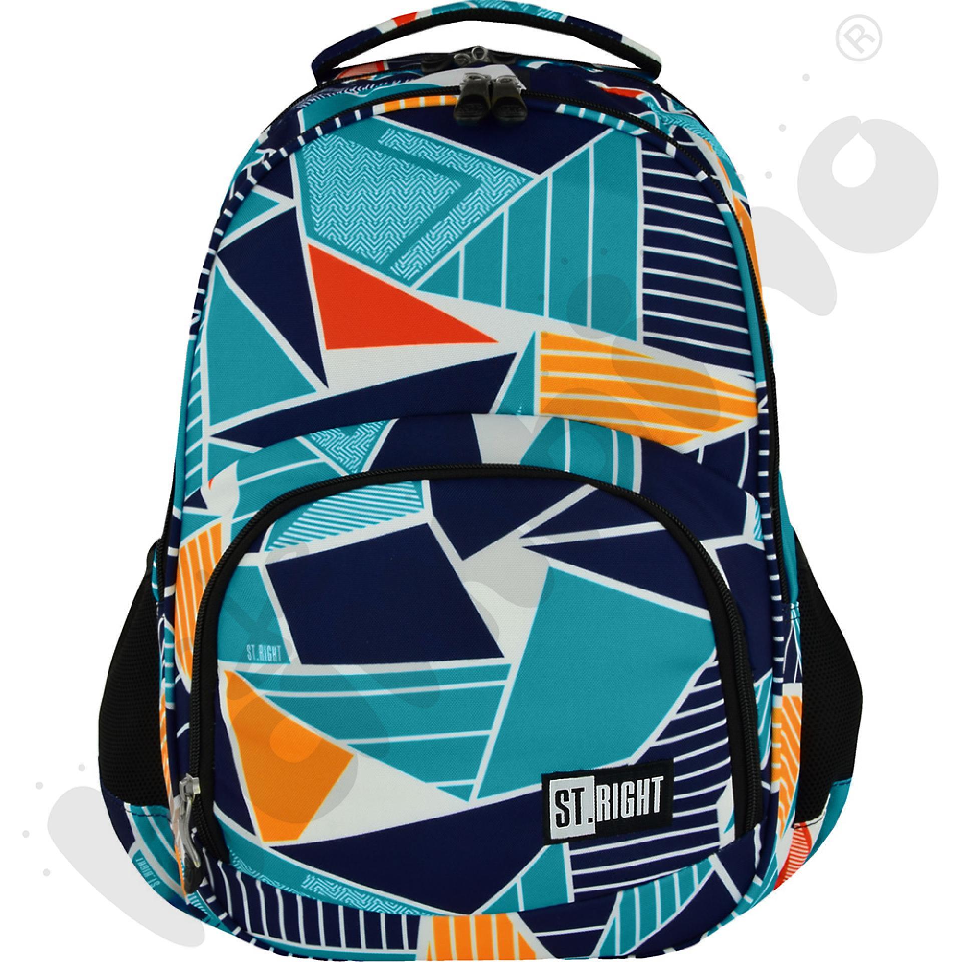 Plecak szkolny ICE BLUE