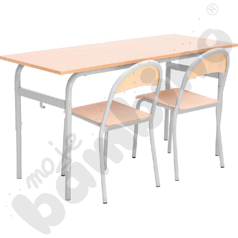 Stół Daniel 2-os. z...