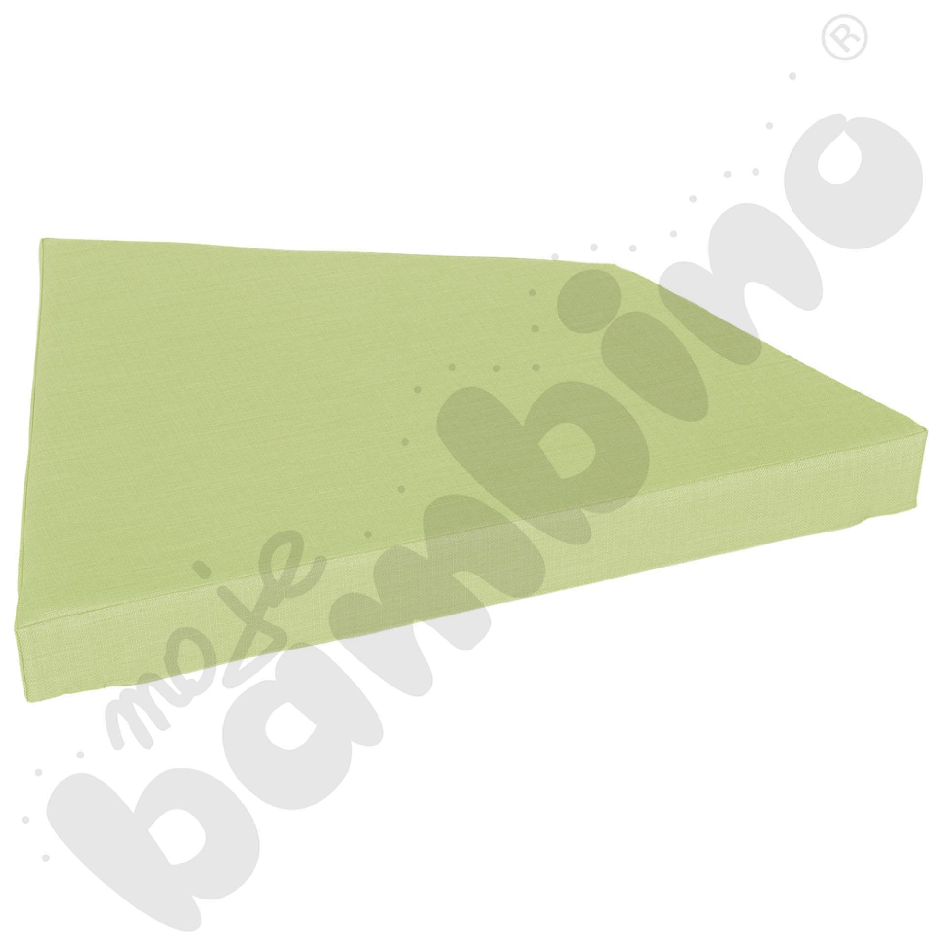 Materac Quadro 1 jasnozielony, wys. 10 cm