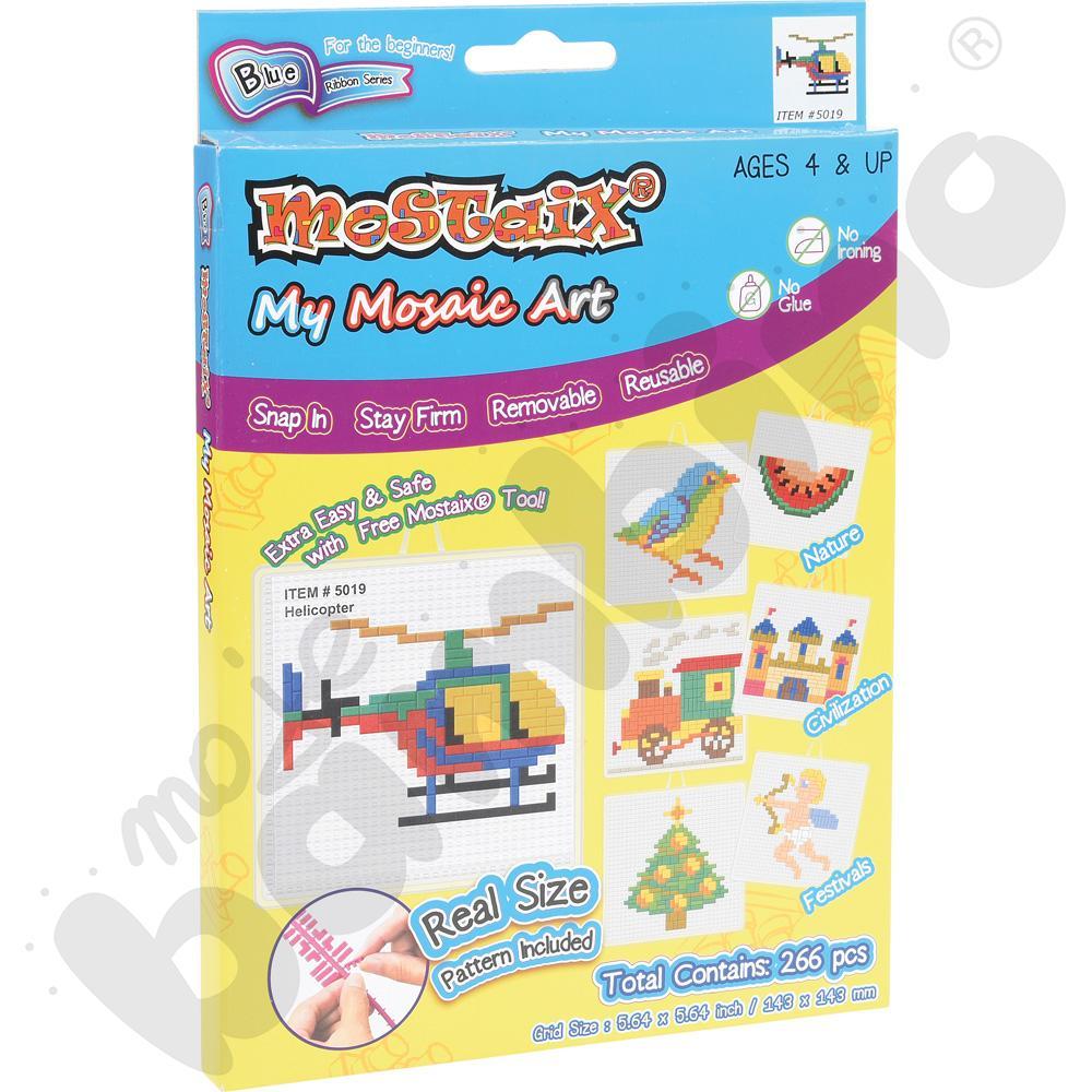 Mozaika - helikopter