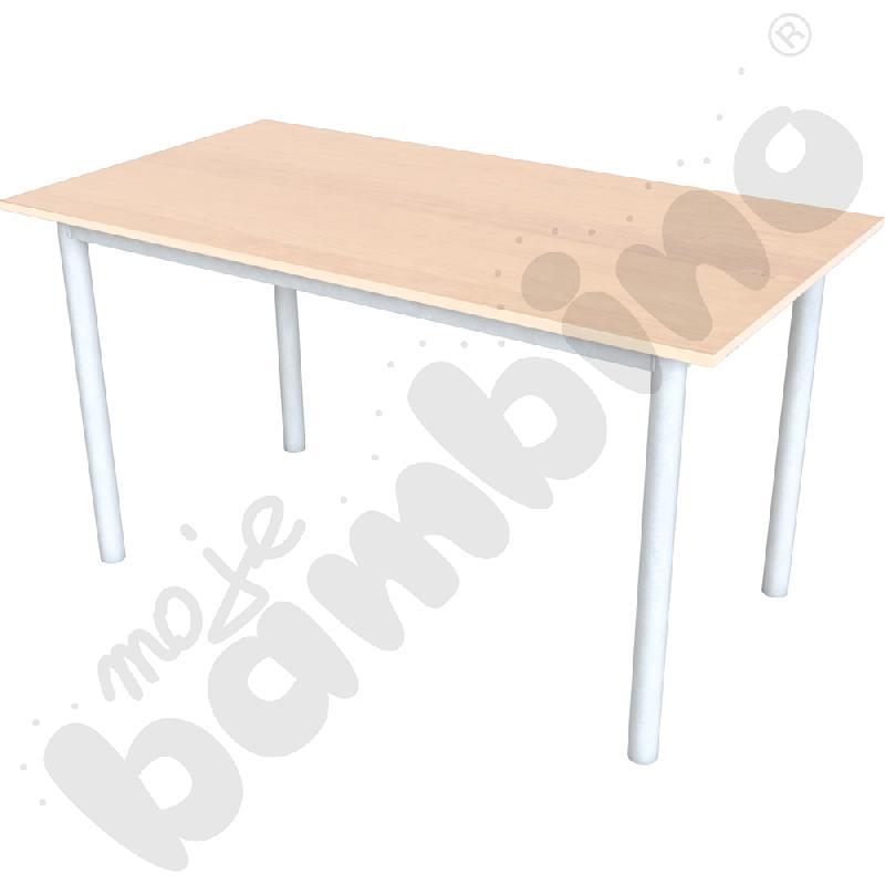 Stół konferencyjny prosty buk