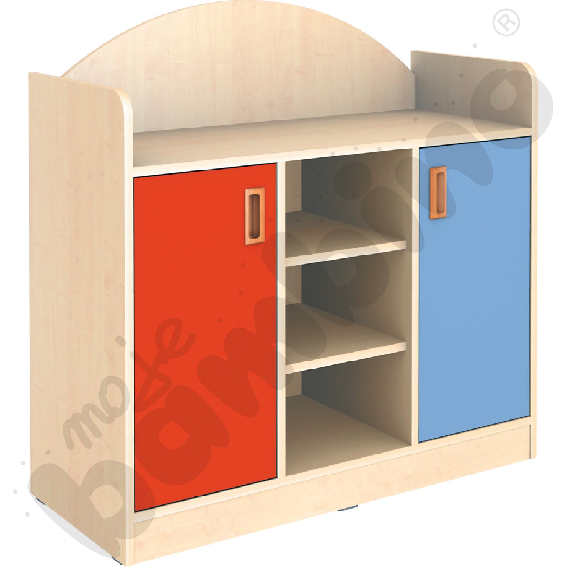 SANLANDIA szafka z 2 półkami w środkowej części