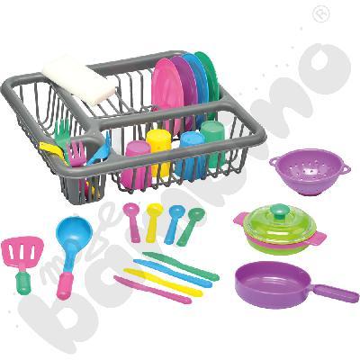 Suszarka z naczyniami