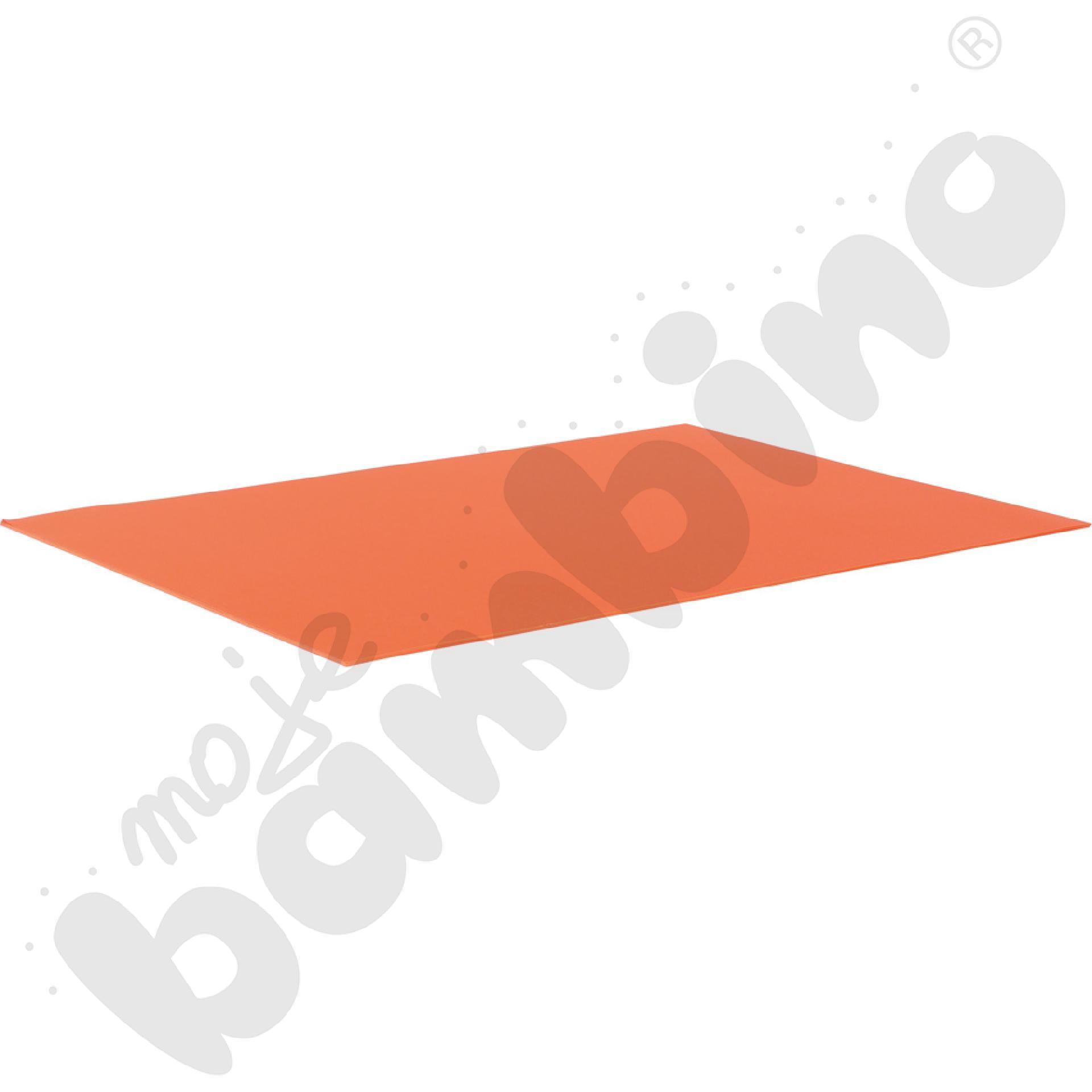 Karton fakturowy 10 arkuszy o wym. 50 x 70 cm ciemnopomarańczowy