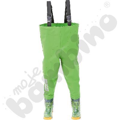 Spodniobuty dziecięce zielone 30/31