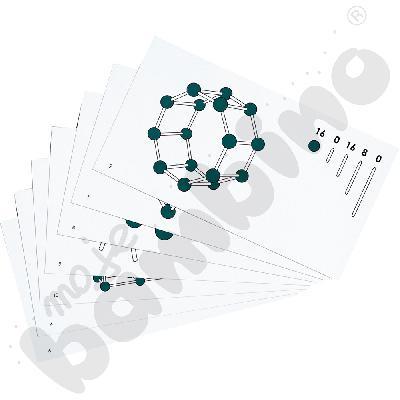 Karty do zestawu bryły (500176)