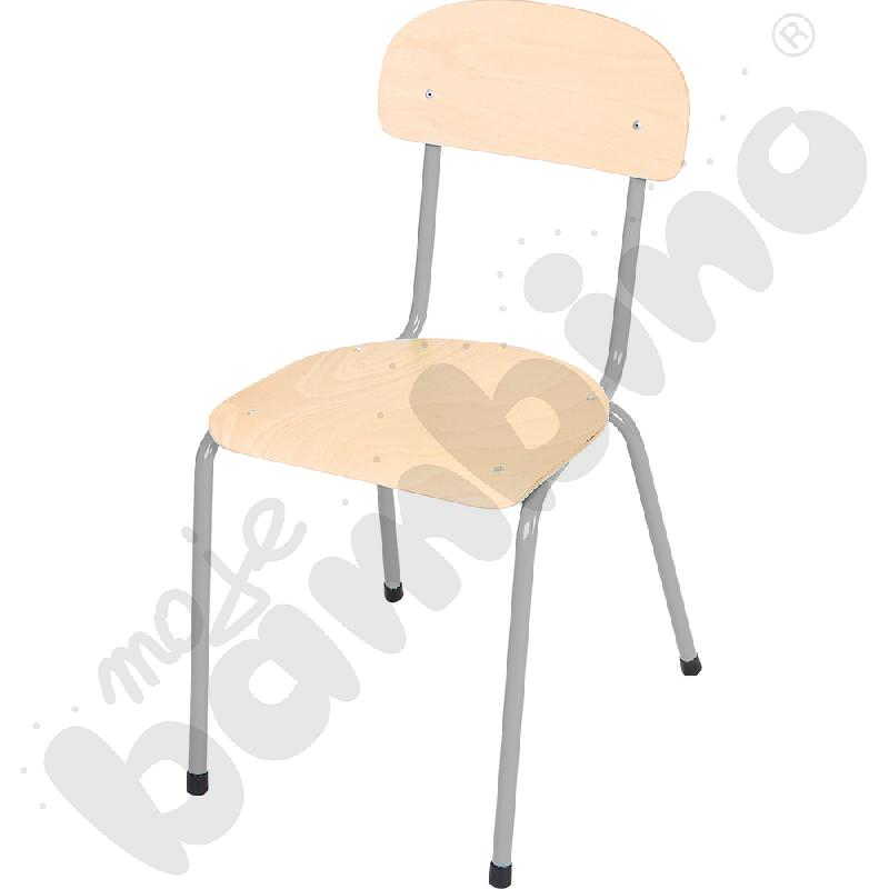 Krzesełko Bambino 5 srebrne