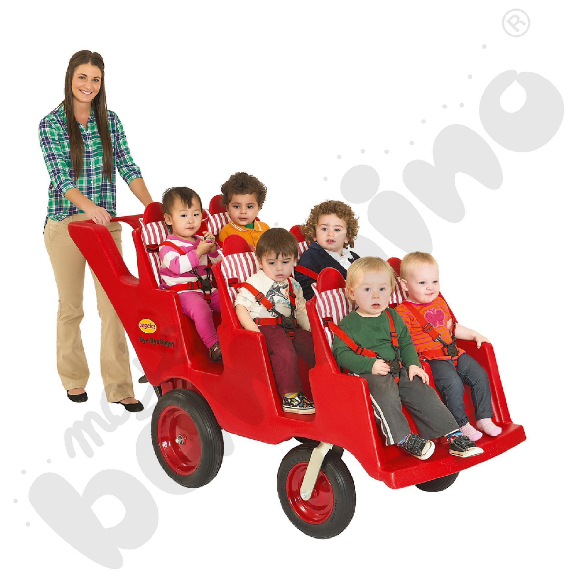 Wózek Bye Bye 6-osobowy