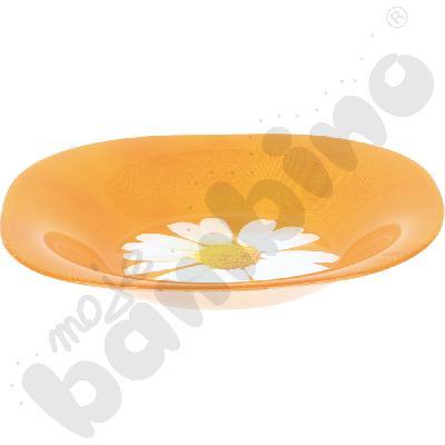 Talerz do zupy Paquerette pomarańczowy