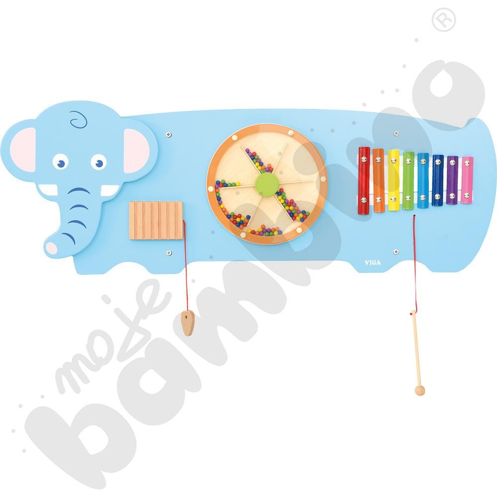 Tabliczka ścienna - słoń