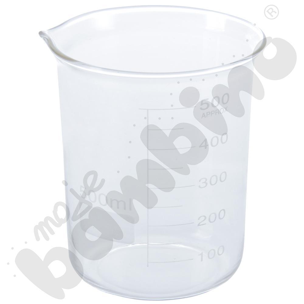 Zlewka duża szklana 500 ml, 10 szt.