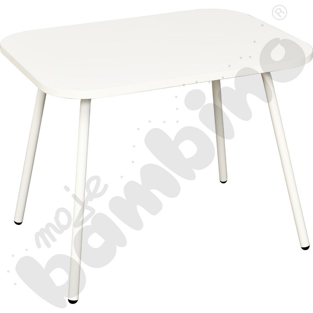 Stolik mały niski biały...