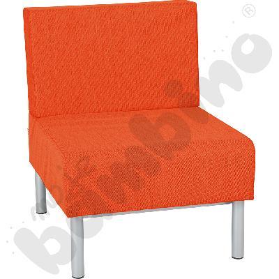 Fotel Inflamea 1, 1 os. - pomarańczowy